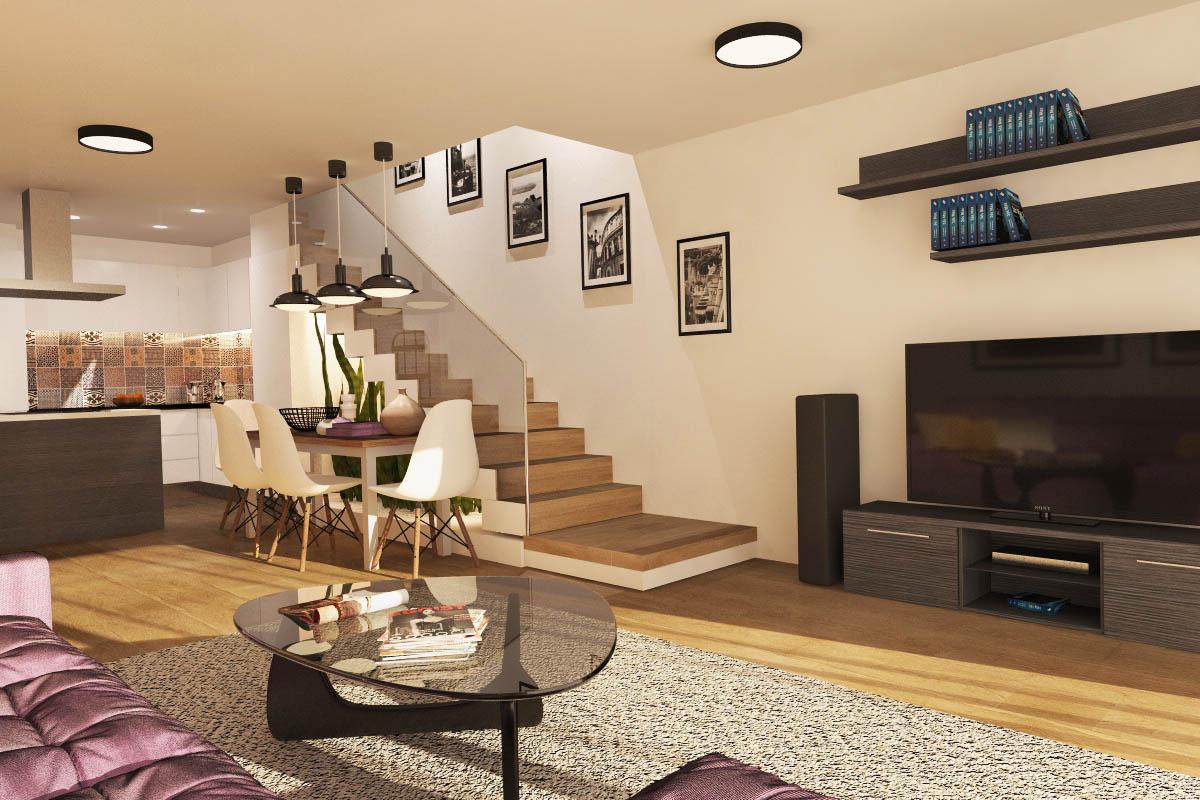 interior design for one apartment in Barcelona