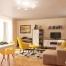 Interior design of apartment in London