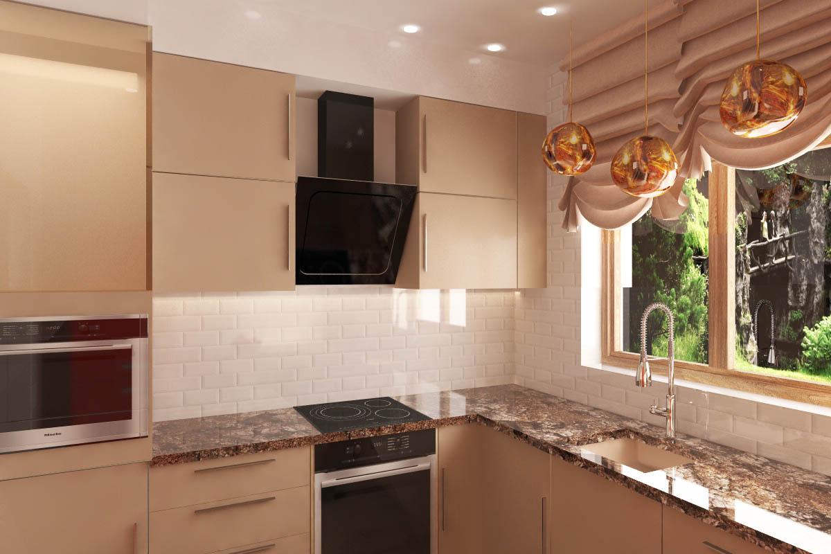 Interior design of apartment in Malaga in Spain